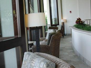 シェラトンホテルフロント