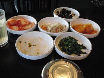 ソゴンドン小皿料理