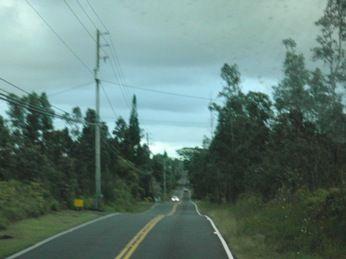 ハワイ島の道2