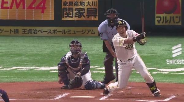 松田VS十亀 通算打率.585(41打数24安打) 8本塁打