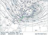 12月26日09時500hPa天気図