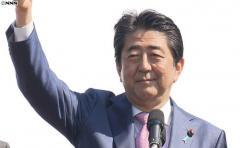 米財団「世界の政治家」に安倍前首相が選出