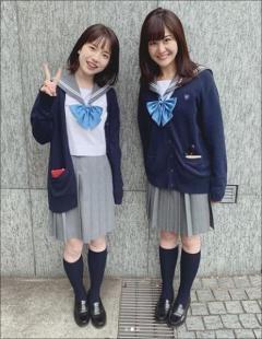 """""""可愛すぎる""""弘中綾香アナのセーラー服姿に視聴者メロメロ"""