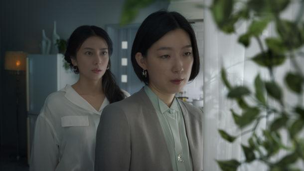 「女優の息ドラマ 第1話」篇_初共演
