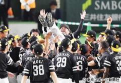 【日本シリーズ】ソフトバンク4連勝で3年連続10度目の日本一 グラシアルが先制3ラン