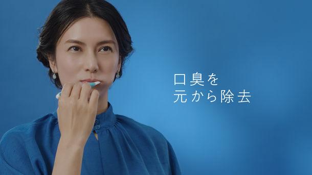 「女優の息ドラマ 第1話」篇_口臭を元から除去