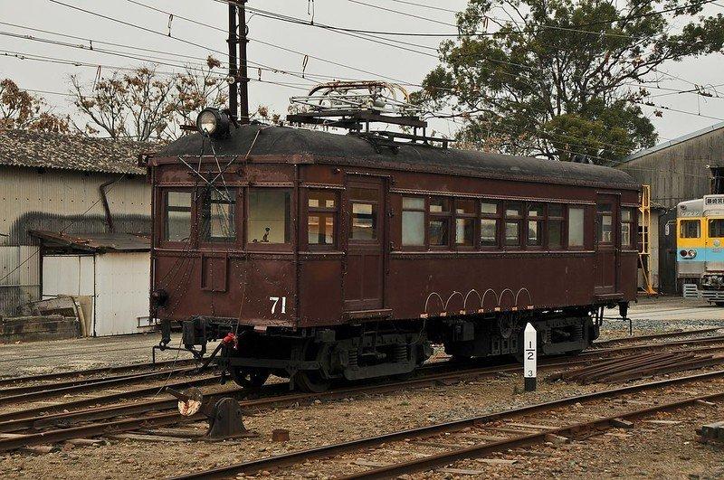 モハ71(画像はFlickrより、wamu8さん撮影)
