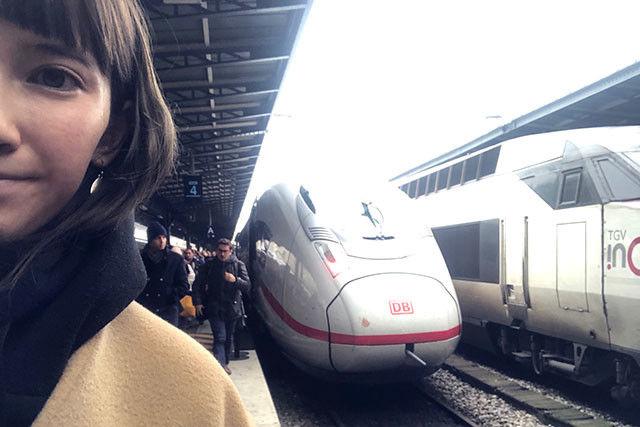 ドイツの特急列車と。話し切れなかったヨーロッパの鉄道については、またいずれ!