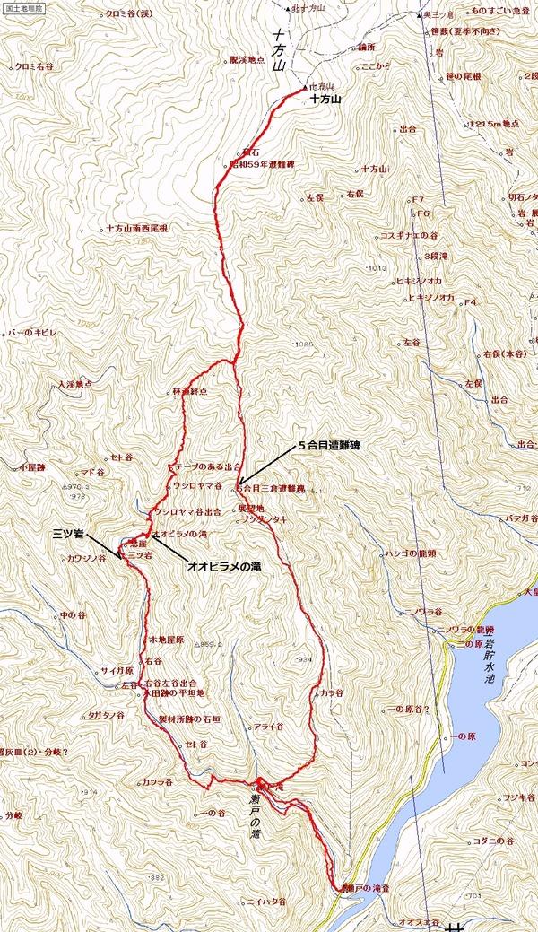 セト谷 地図