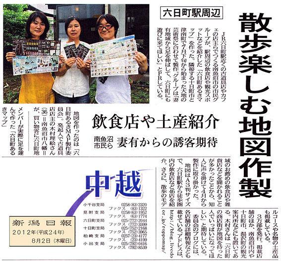新潟日報/掲載記事ミニ