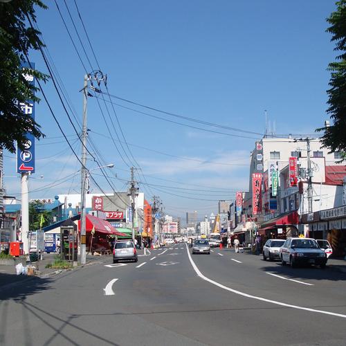 卸売場外市場 レーシングジャイブ研究会 : 札幌市中央卸売場外市場に行く レーシングジャイブ研究