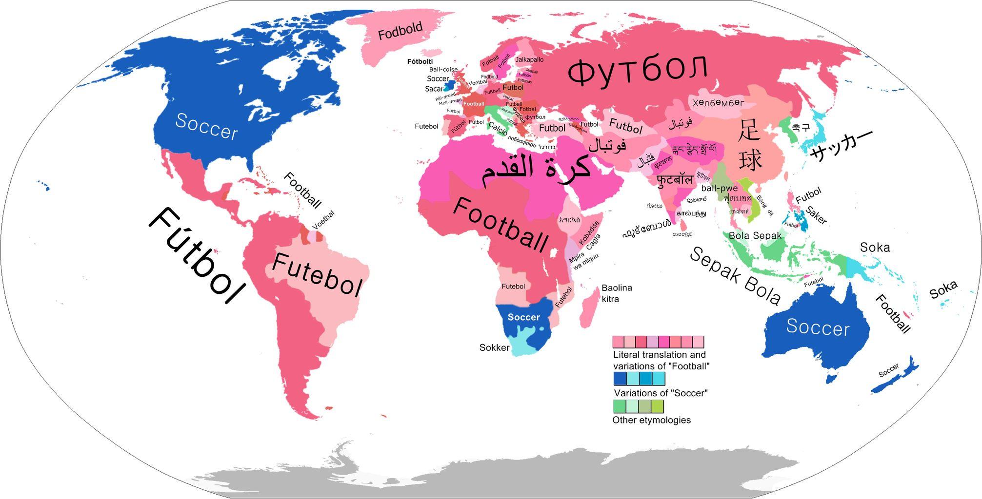 【スポーツ】日本はなぜサッカーと呼ぶ? 世界はフットボールが主流