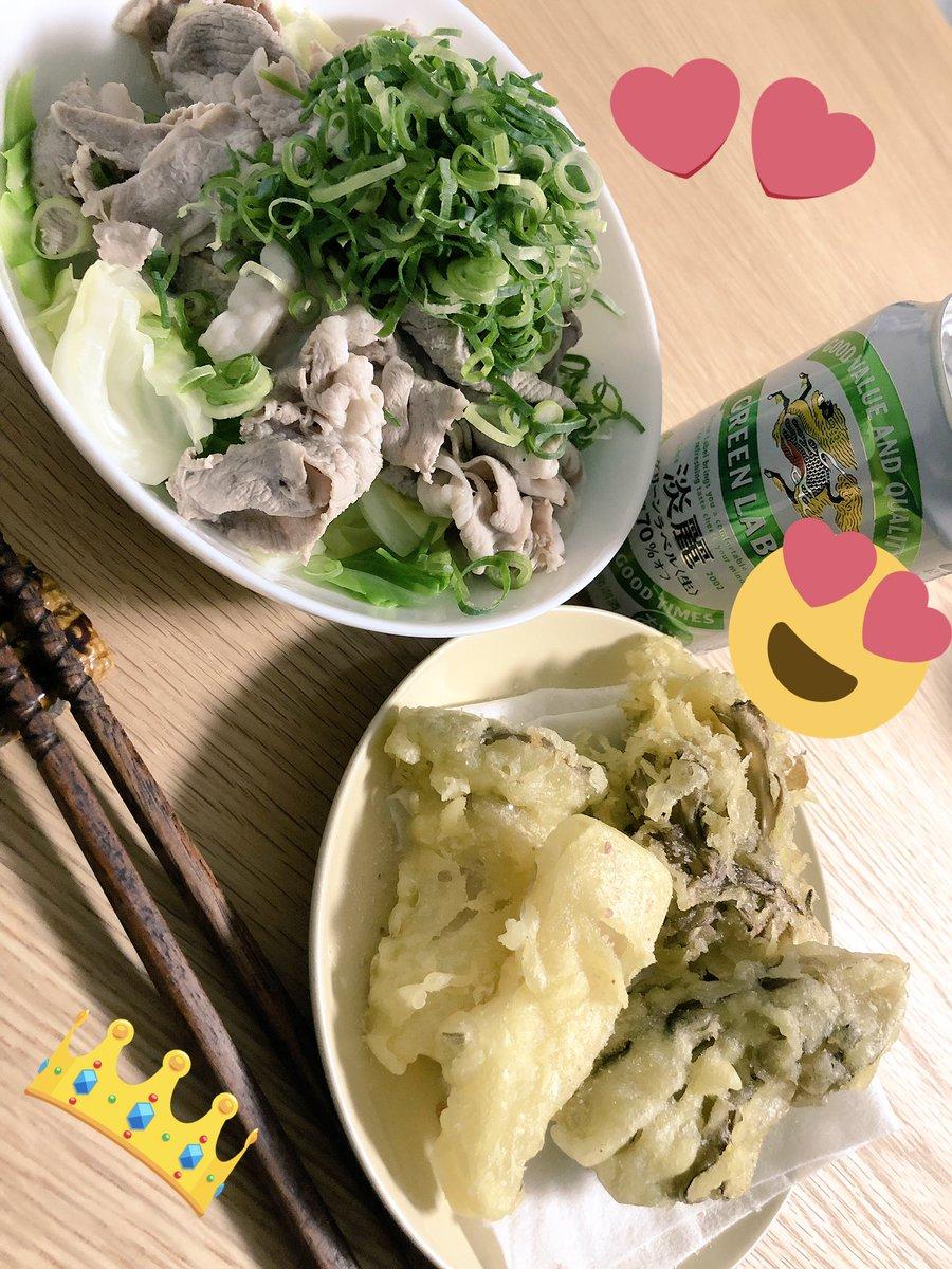 AV女優・希美まゆさん(29)、キャベツと豚しゃぶとエリンギと舞茸の天ぷらを作る