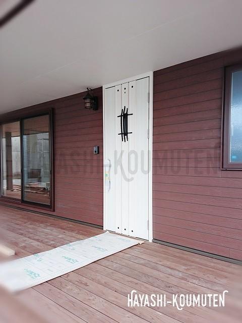 18101601霧島市林工務店玄関ドア