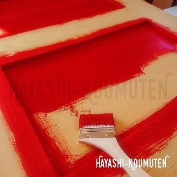 18120702霧島市林工務店アンティークドア塗装