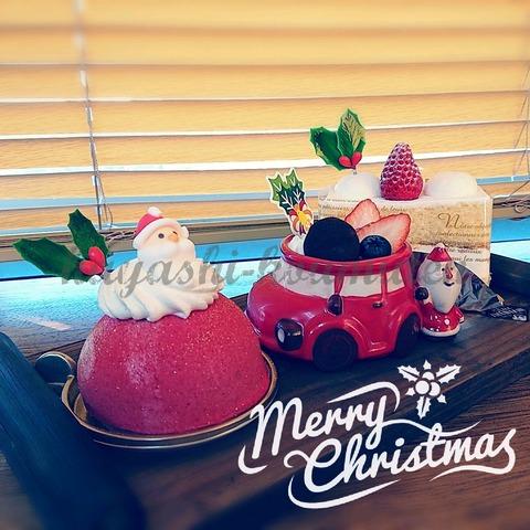 20171223クリスマスケーキ