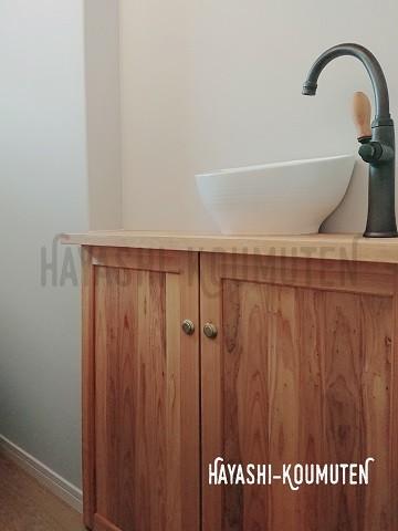 19022802霧島市林工務店造作トイレ手洗い