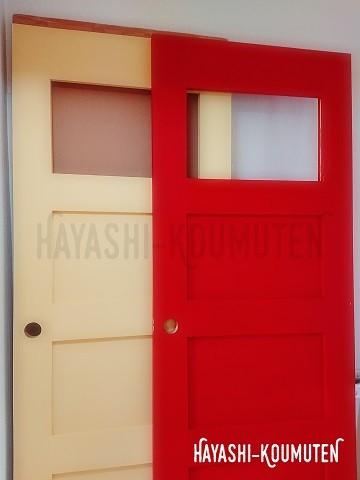 18120703霧島市林工務店アンティークドア塗装