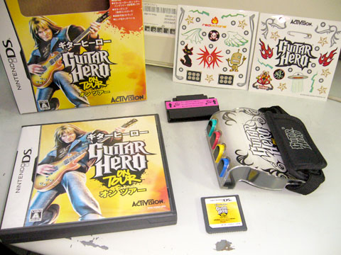 Guitar Hero: On Tour』が届いた...