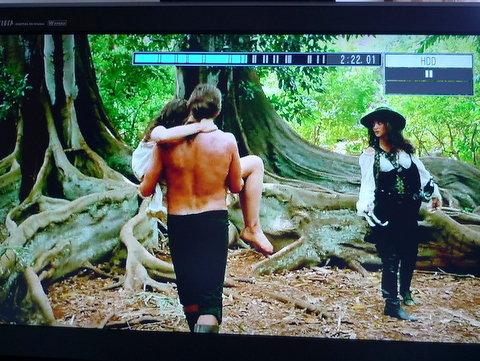 2015年カウアイ島滞在のお話が始まったばかりなのですが先週金曜日にTV で放映された「パイレーツオブカリビアン~