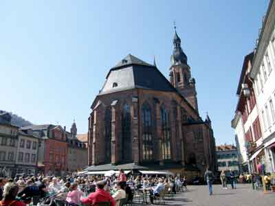 ハイデルベルグの聖霊教会 ハイデルベルグの景色 : クラシックおっかけ日記 クラシックおっかけ日