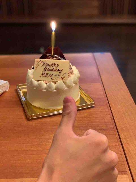 長男誕生日