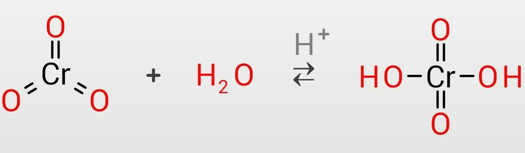 三酸化クロムを用いてアルコール...