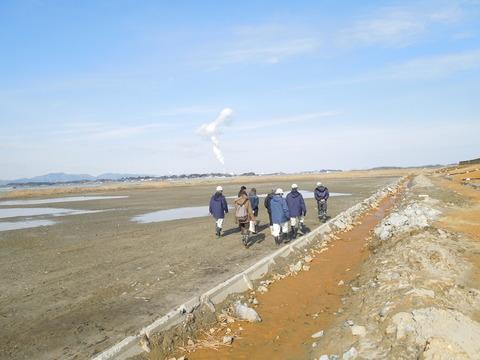 ③ 塩生湿地として残す干潟(5735)