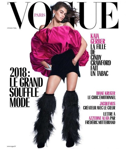 Kaia-Gerber_-Vogue-Paris-Cover-2018--01-662x781