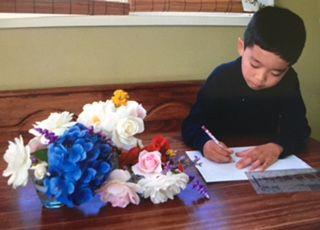 生け花と絵画