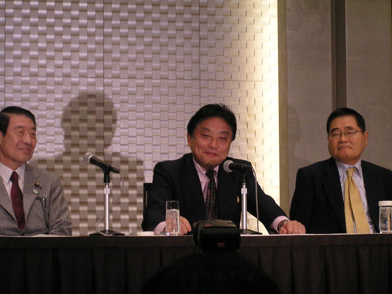 略称「脱原発」で合流!河村たかし、山田正彦両氏が共同代表、亀井幹事 ...