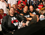 ECWメンバー観戦