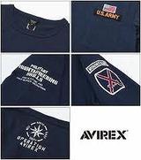 AVIREX クルーネックTシャツ