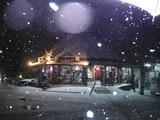 雪の積もる夜のティピ。。。