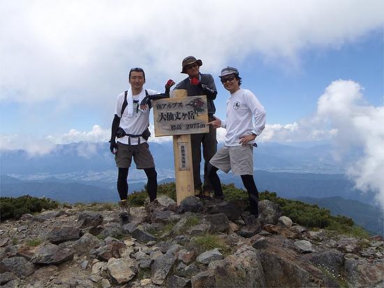 2011甲斐駒仙丈テン泊登山