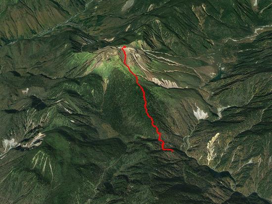 焼岳・北峰