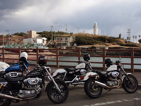 新春魚ツーリング2011・野島崎灯台