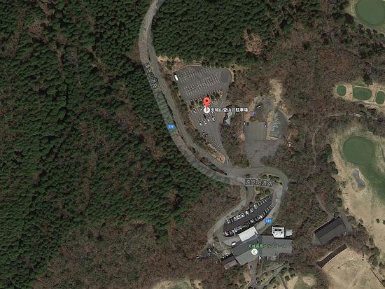 天城高原登山口駐車場