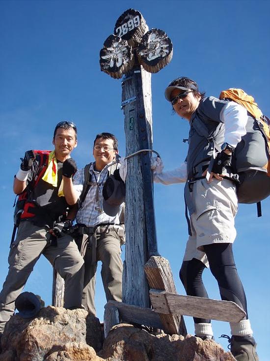 2010南八ヶ岳縦走 赤岳