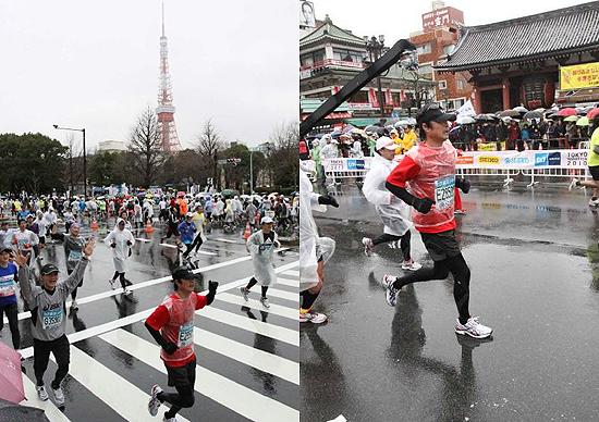 東京タワー〜浅草寺雷門