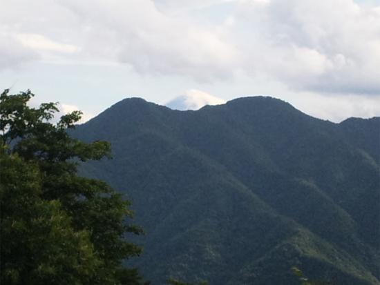松姫峠からの富士山