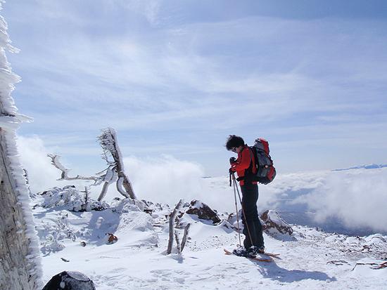 北八ヶ岳スノートレッキング