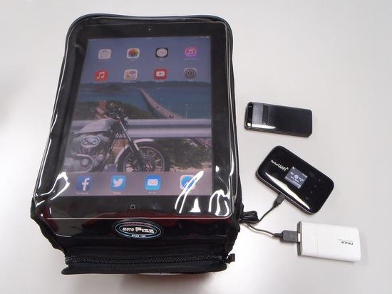 タンクバッグ iPad