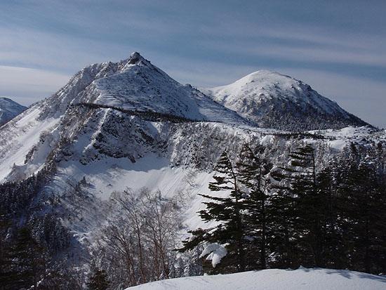 北八ヶ岳スノートレッキング2