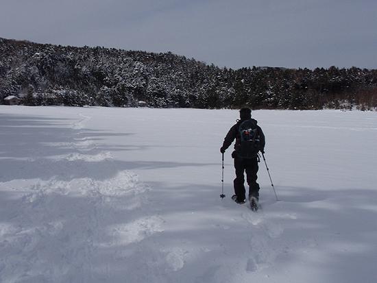 北八ヶ岳スノートレッキング3