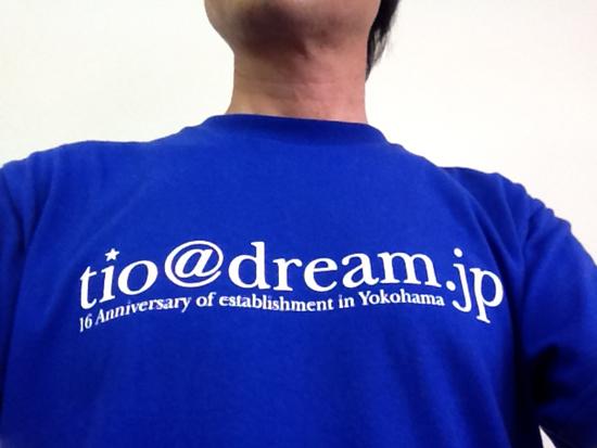 16周年記念Tシャツ