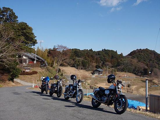 新春魚ツーリング2011・大山千枚田
