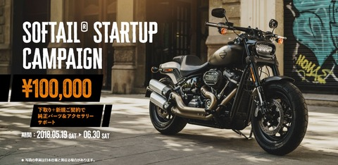 Softail STARTUP Campaign2018