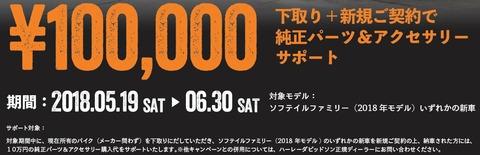 パーツサポート10万円