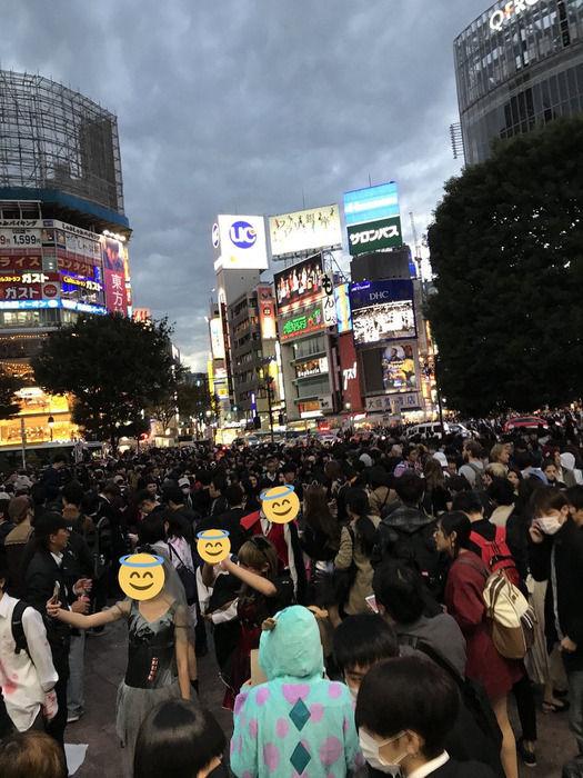 【ハロウィン】渋谷がヤバいことになってるwwwwwwwwww